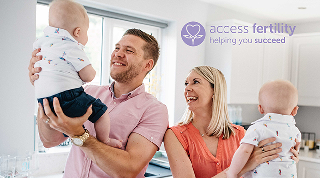 Access Fertility Refund Programme - family image